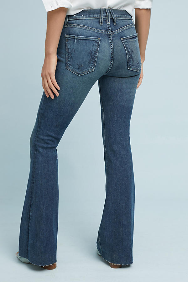 Slide View: 4: McGuire Majorelle Mid-Rise Flare Jeans