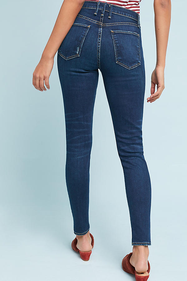 Slide View: 4: McGuire Newton Mid-Rise Skinny Ankle Jeans