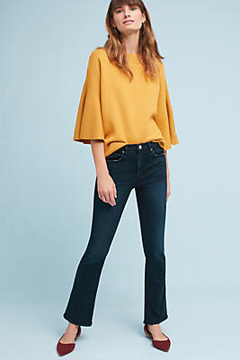 Slide View: 4: McGuire Gainsbourg Mid-Rise Bootcut Ankle Jeans