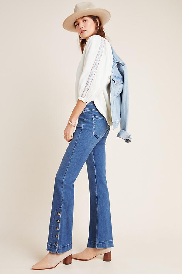 Pilcro High-Rise Bootcut Jeans