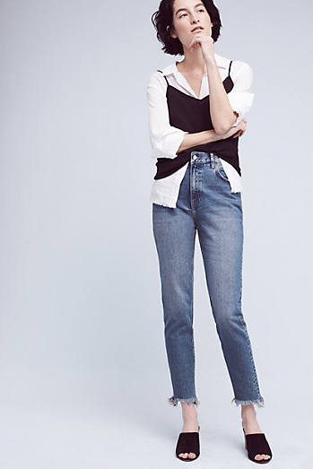 Pilcro Tilde Ultra High-Rise Cropped Jeans
