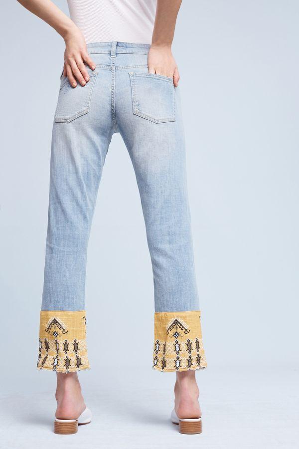 Pilcro Pilcro Hyphen Mid-Rise Boyfriend Jeans