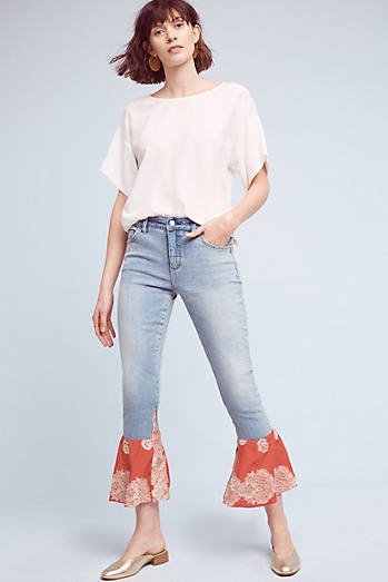 Pilcro High-Rise Crafted Flare Jeans