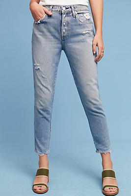 Slide View: 1: AMO Ace Mid-Rise Relaxed Jeans