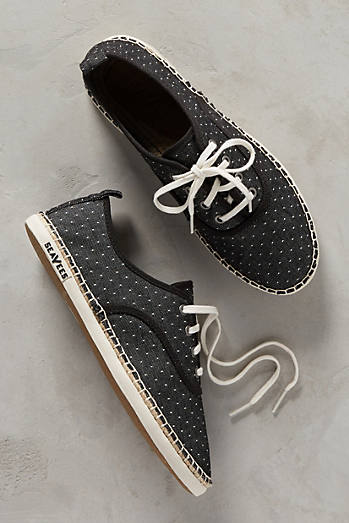 SeaVees Sorrento Polka-Dotted Sneakers