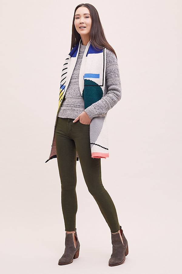 Sarah Skinny Jeans - Beige, Size 26