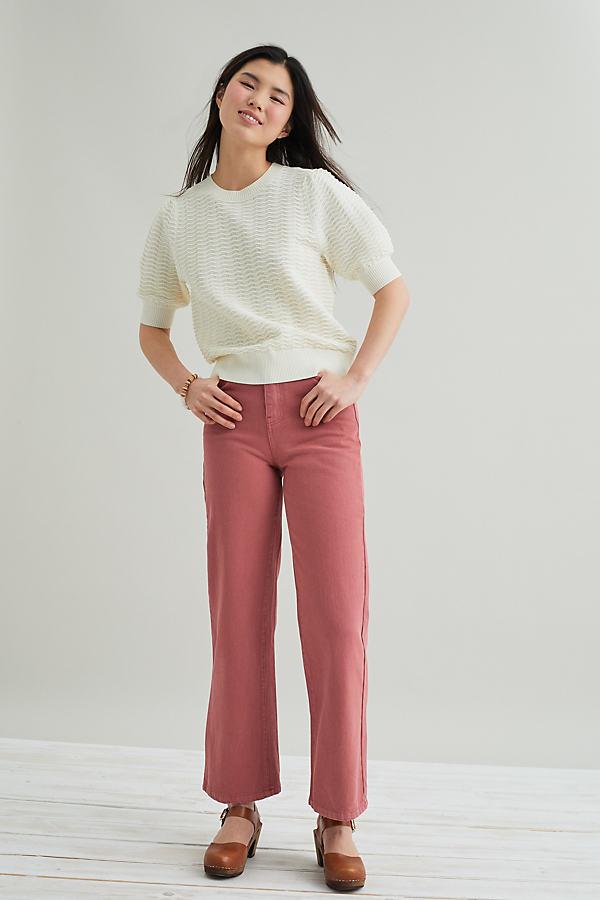 Suncoo Remy Wide-Leg Jeans
