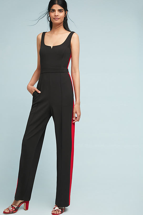 Donna Morgan Striped Jumpsuit - Assorted, Size Uk 12