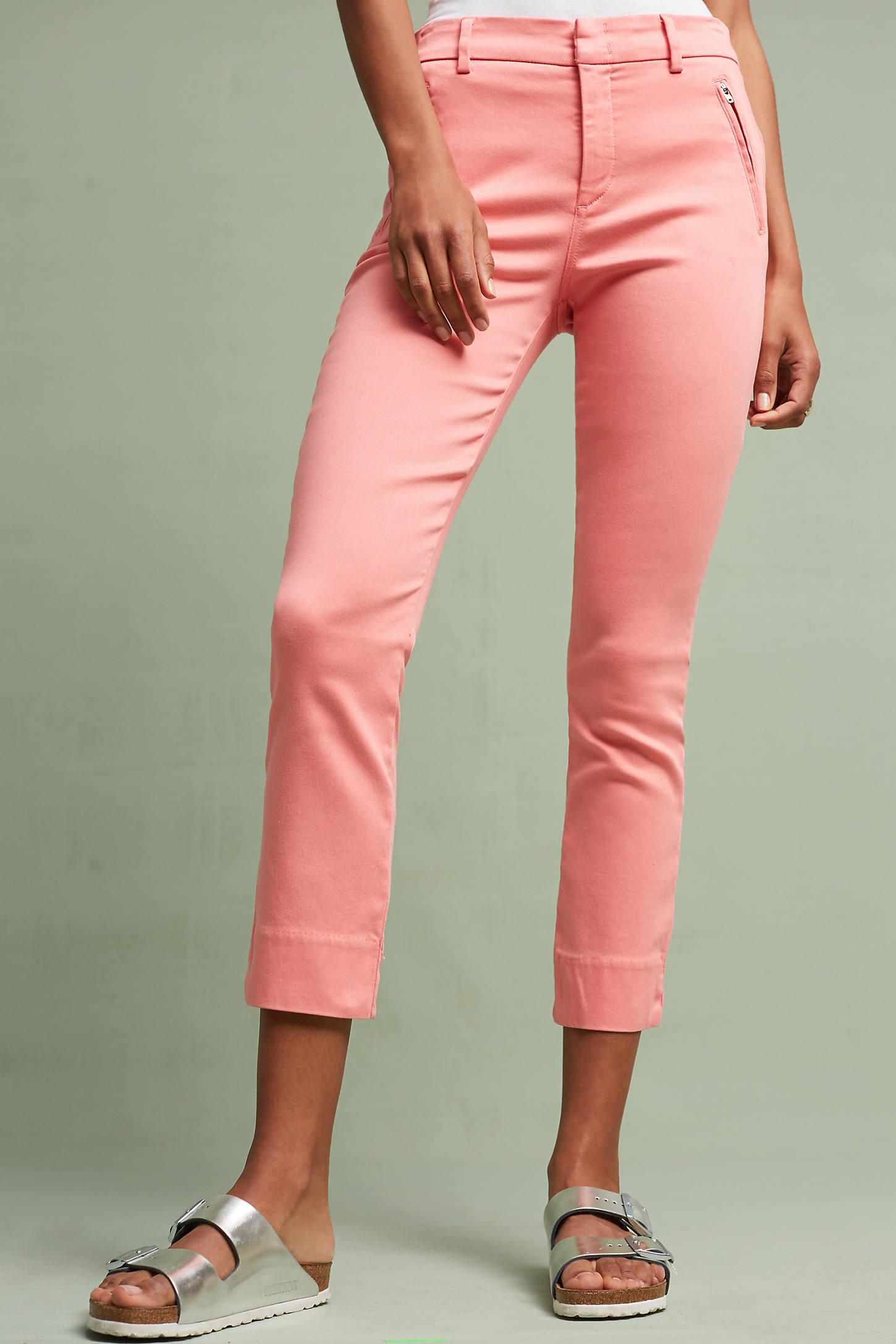 Level 99 Liza Sateen Skinny Trousers