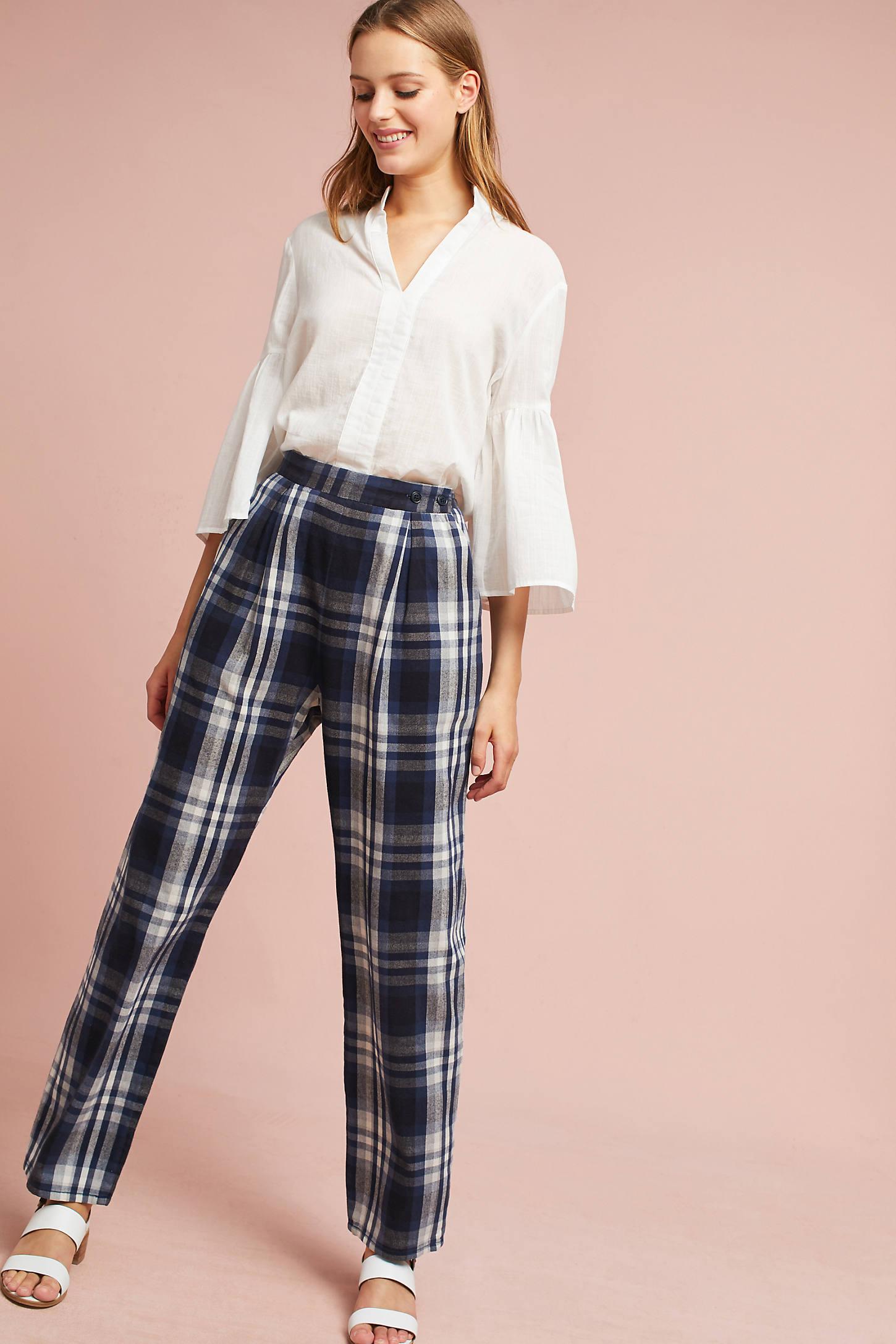 3x1 NYC Plaid Pants