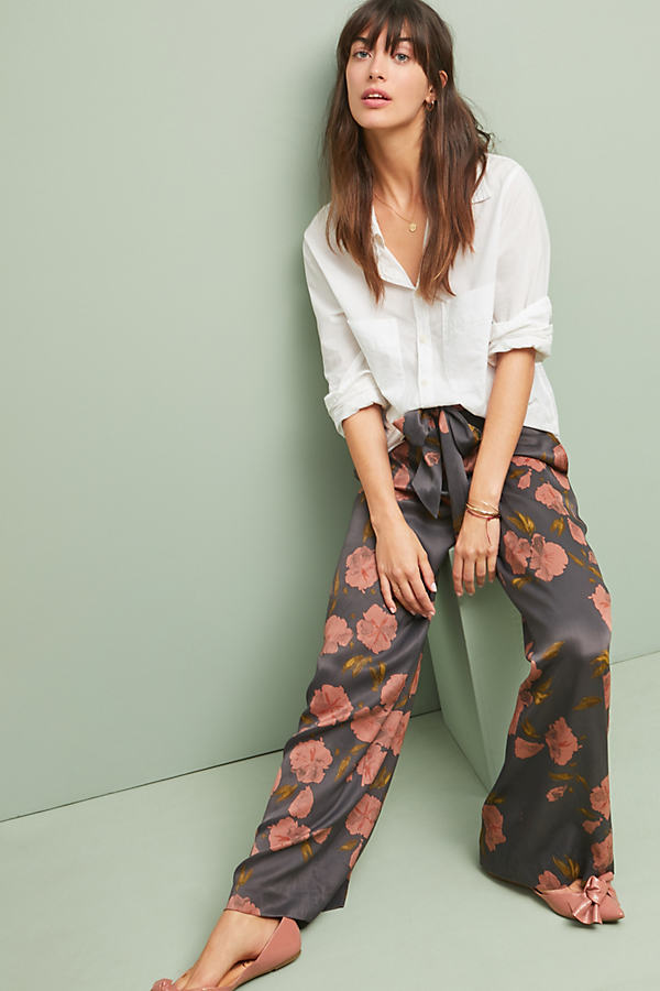 Ryder Wide-leg Trousers - Assorted, Size Uk 6