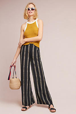 Slide View: 1: Christina Wide-Leg Trousers