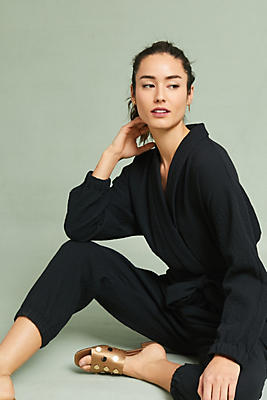 Slide View: 1: Benna Wrap Jumpsuit