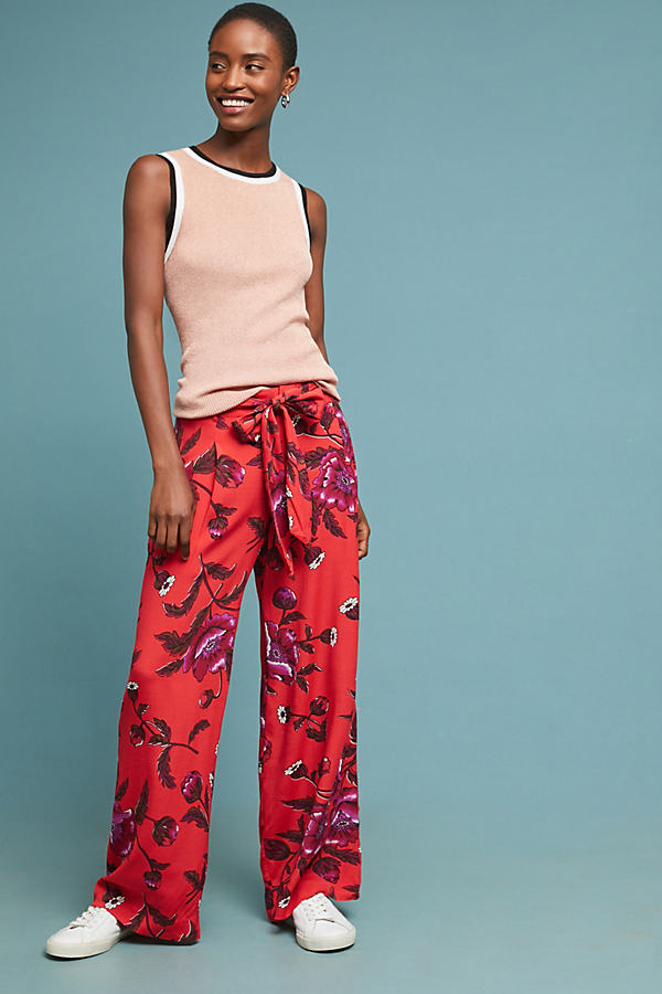 Margo Wide-Leg Trousers - Assorted, Size Uk 6