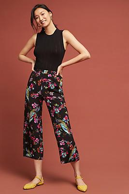 Slide View: 1: Sunreta Printed Pants
