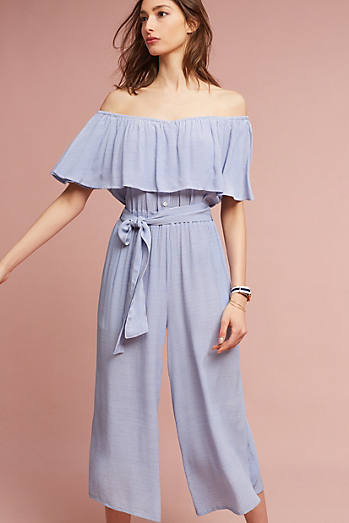 Ezra Off-The-Shoulder Jumpsuit