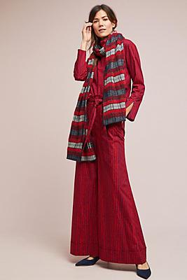 Slide View: 1: Marimekko Kaisu Striped Trousers