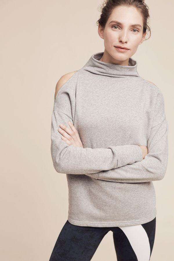 Varley Open-Shoulder Keystone Sweatshirt