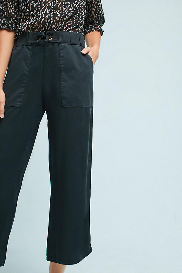 Slide View: 2: Lace-Up Cropped Pants