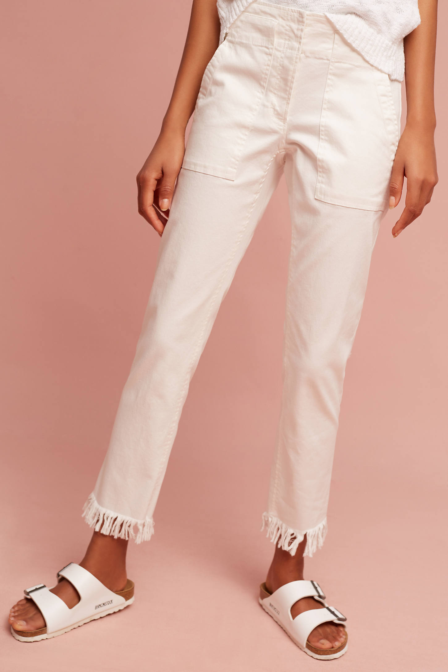 Tailored & Frayed Pants