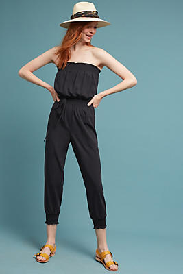 Slide View: 1: Tracy Reese Strapless Jumpsuit