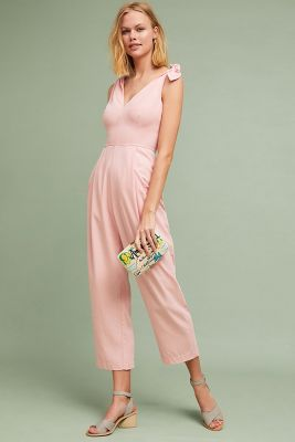 maud-tied-jumpsuit by tracy-reese-x-anthropologie