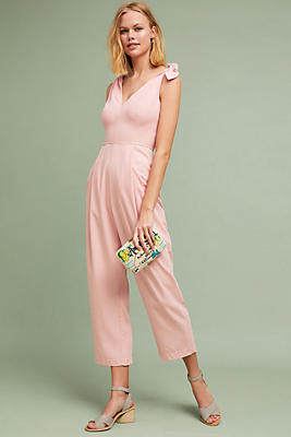 Slide View: 1: Maud Tied Jumpsuit