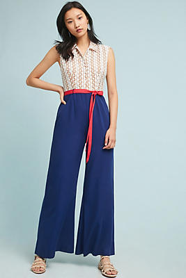 Slide View: 1: Sweet Sailor Jumpsuit