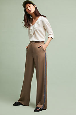Slide View: 1: Tracy Reese Side-Striped Trousers