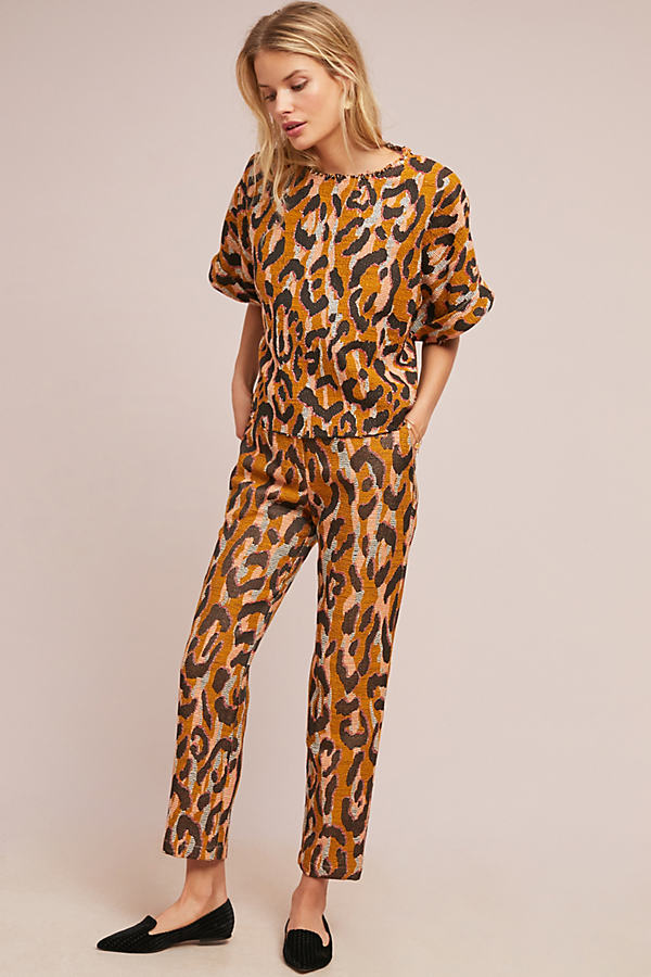 Leopard Trousers - Assorted, Size Uk 8