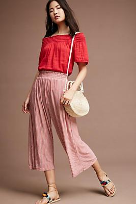 Slide View: 2: Striped Knit Pants