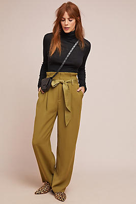 Slide View: 1: Stet Wide-Leg Pants