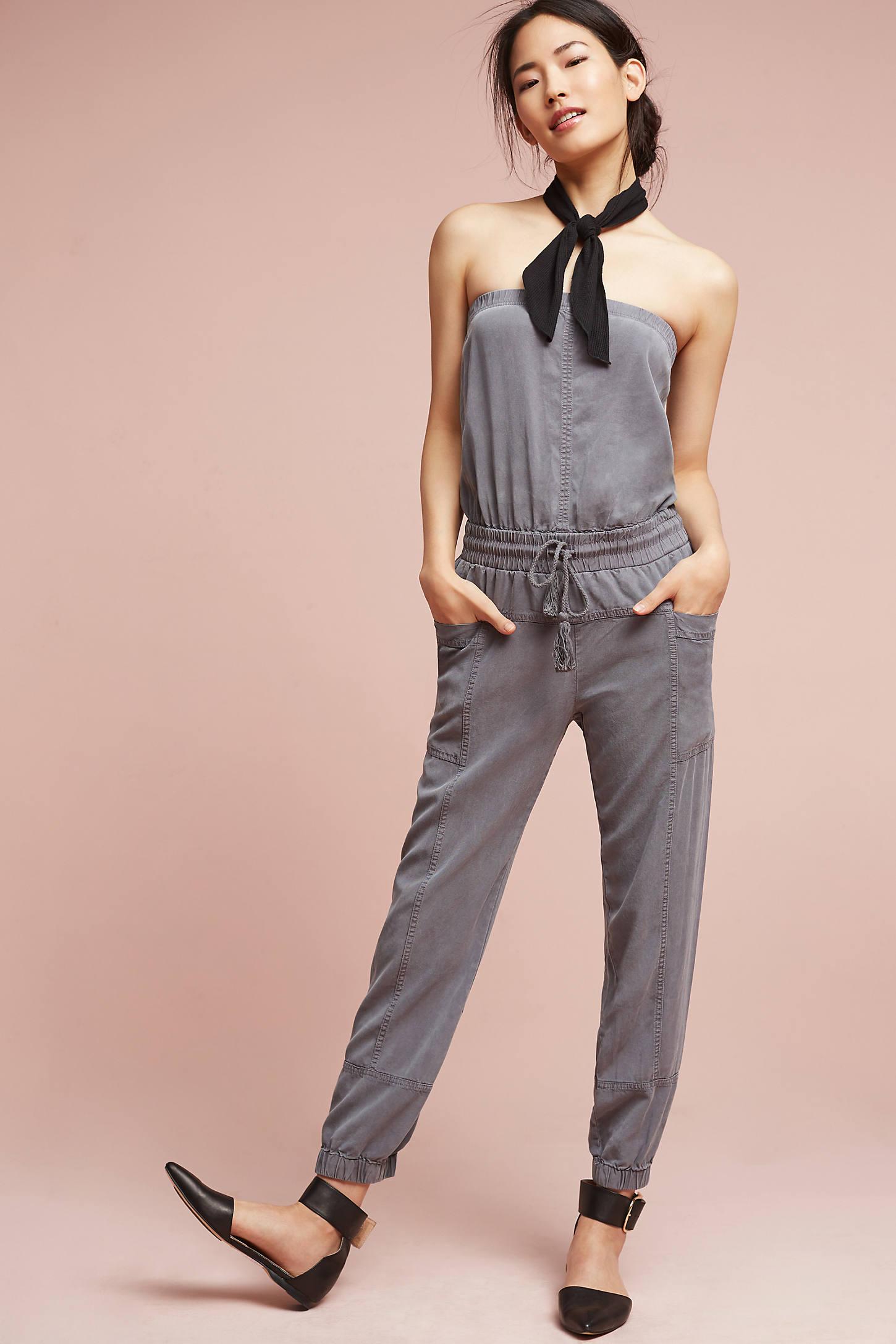 Ashlene Strapless Jumpsuit