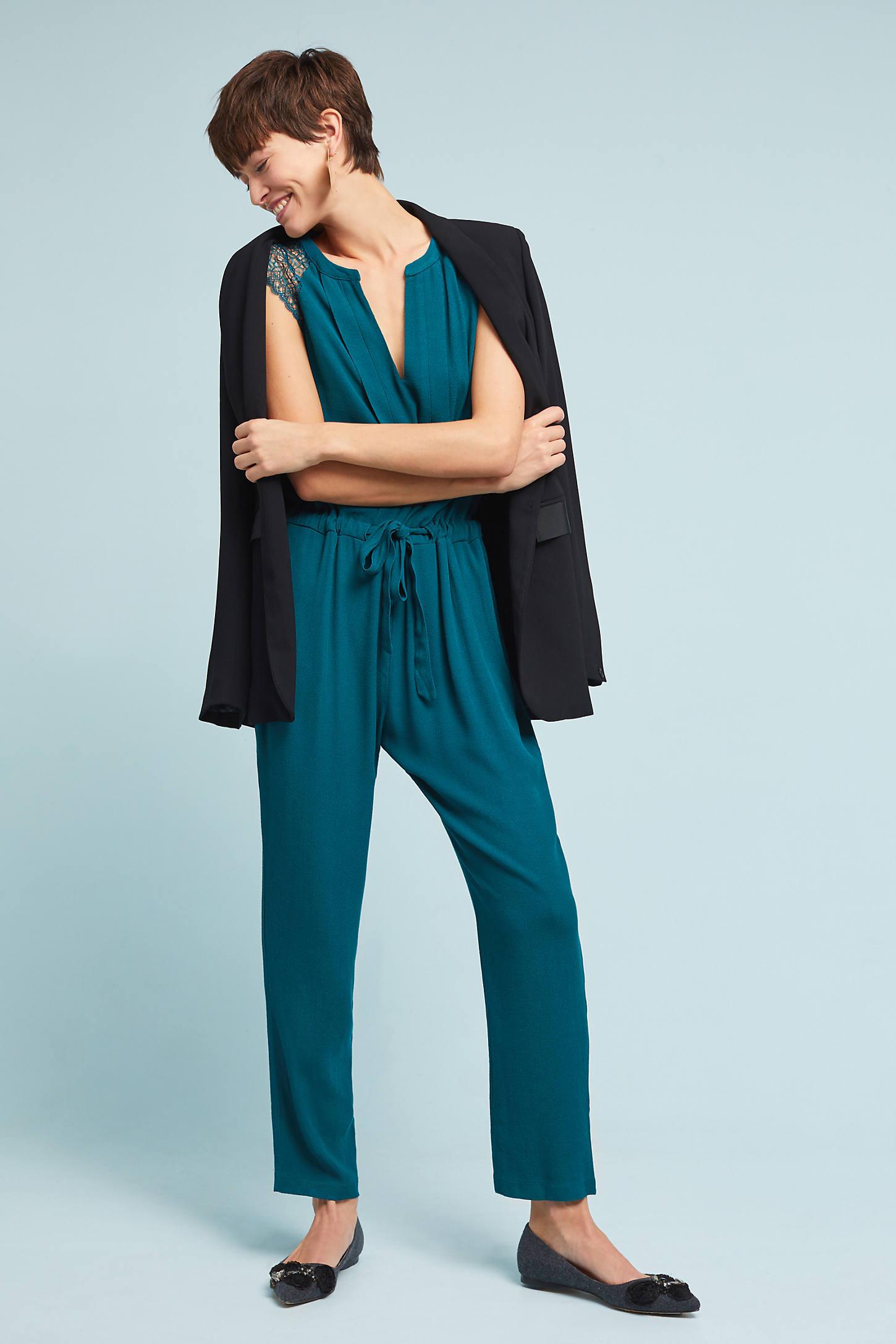 Cheryl Pleated Jumpsuit