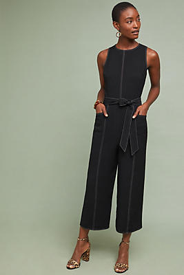 Slide View: 1: Colleen Stiched Jumpsuit