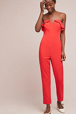 Slide View: 1: Penny Strapless Jumpsuit