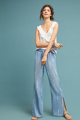 Slide View: 1: Cloth & Stone Wide-Leg Pants