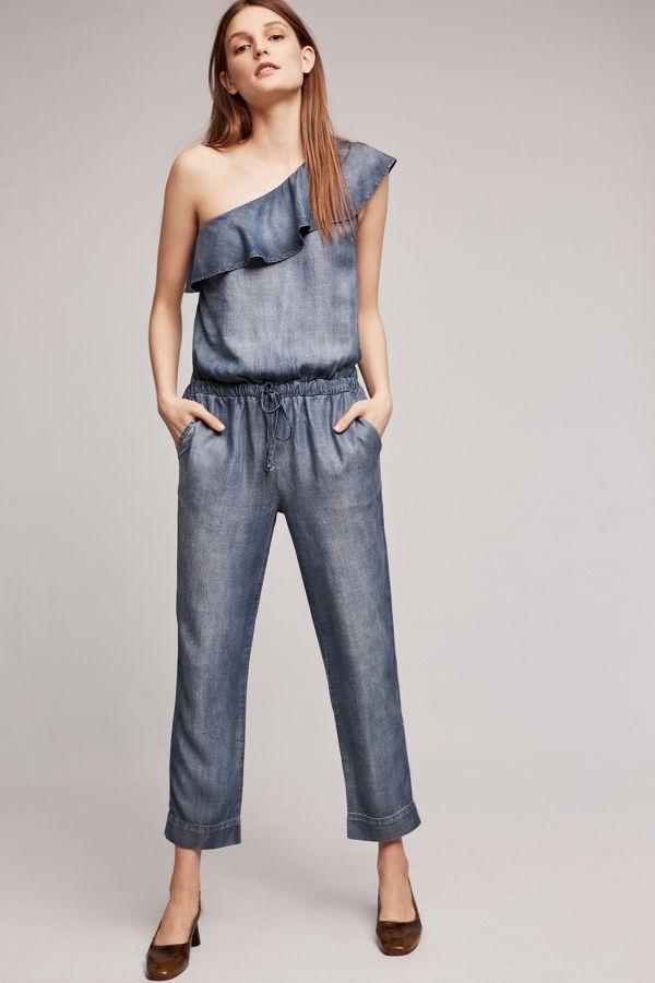 Cloth & Stone Miami One-Shoulder Jumpsuit