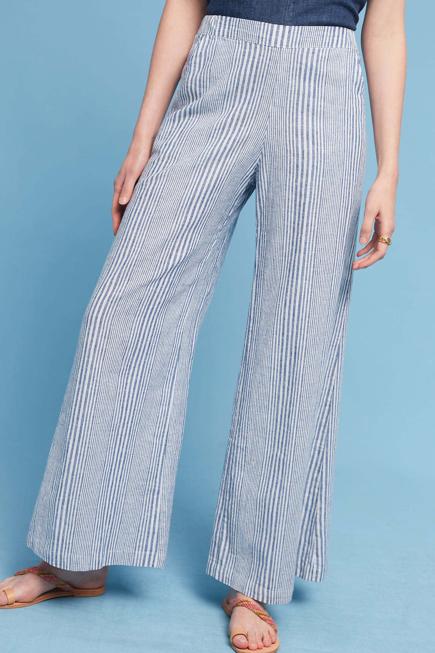 Pacifico Linen Wide-Legs