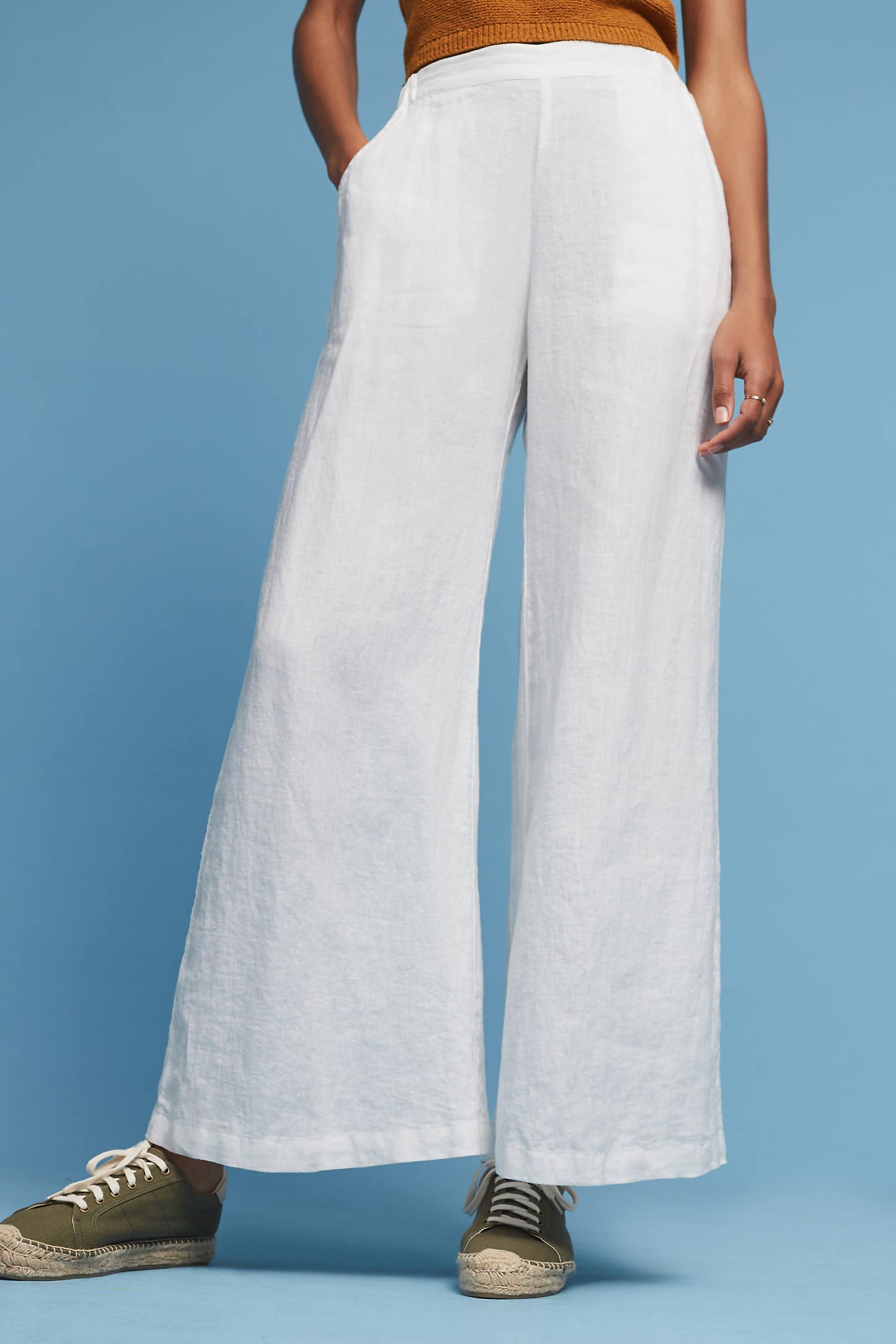 Sydney Linen Wide-Legs