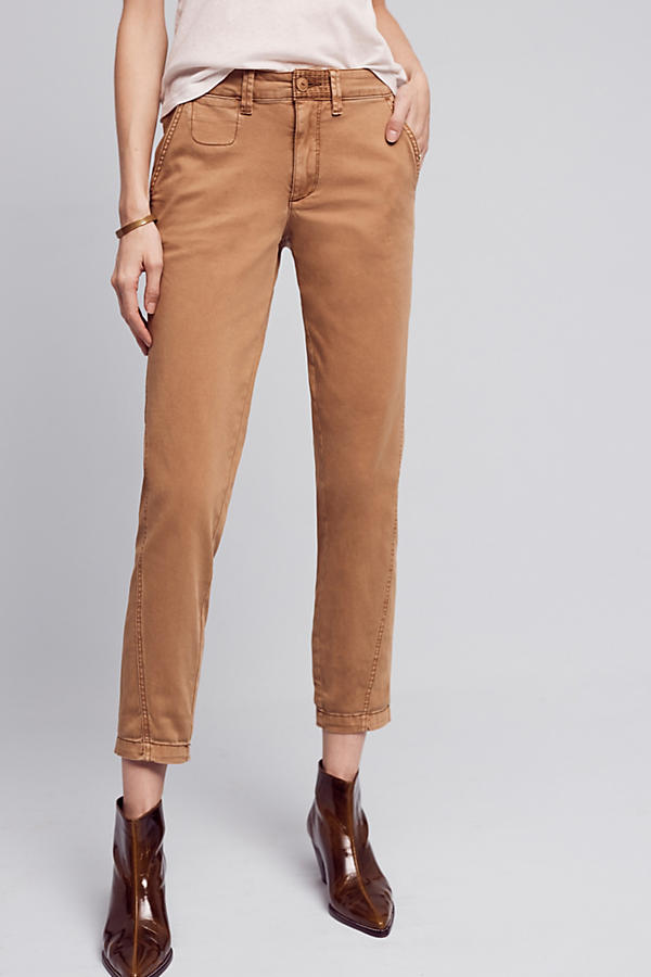 Slide View: 2: Joan Relaxed Chino Trousers