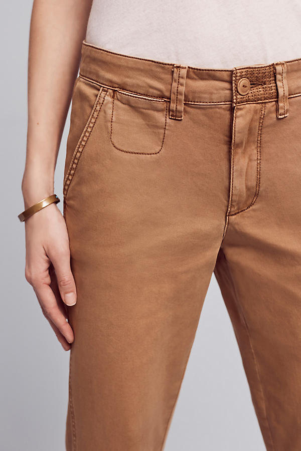 Slide View: 3: Joan Relaxed Chino Trousers