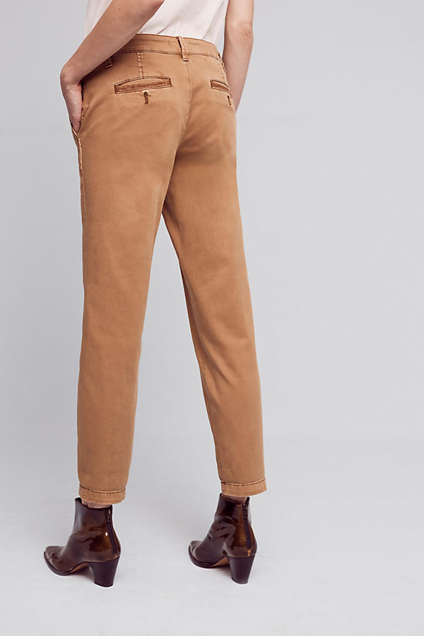 Slide View: 4: Joan Relaxed Chino Trousers