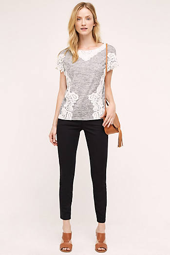 Abroad Sateen Skinny Trousers