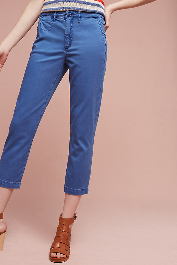 Relaxed Chino Pants - Sapphire, Size 25