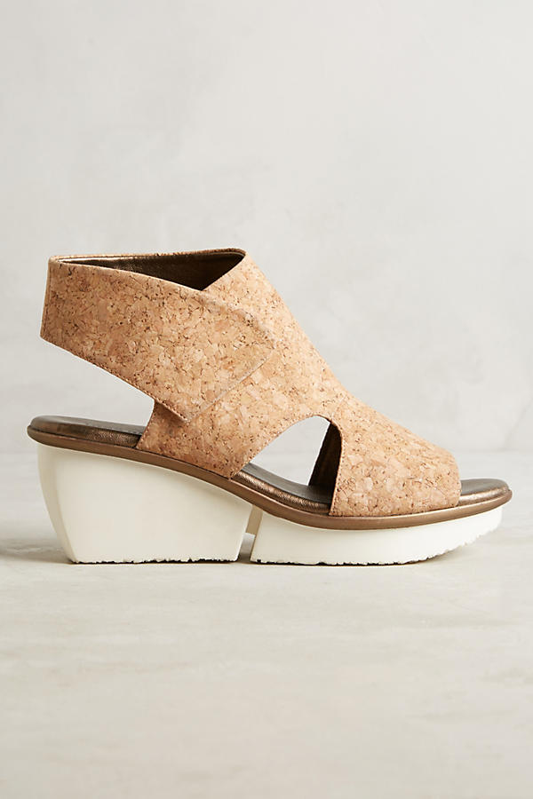Slide View: 2: Farylrobin Seeker Cork Wedges
