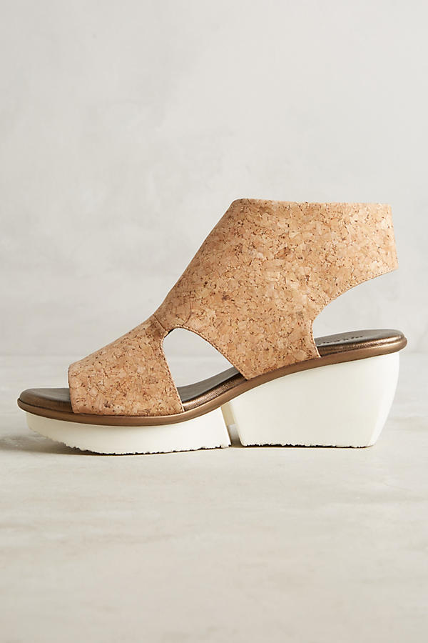 Slide View: 3: Farylrobin Seeker Cork Wedges