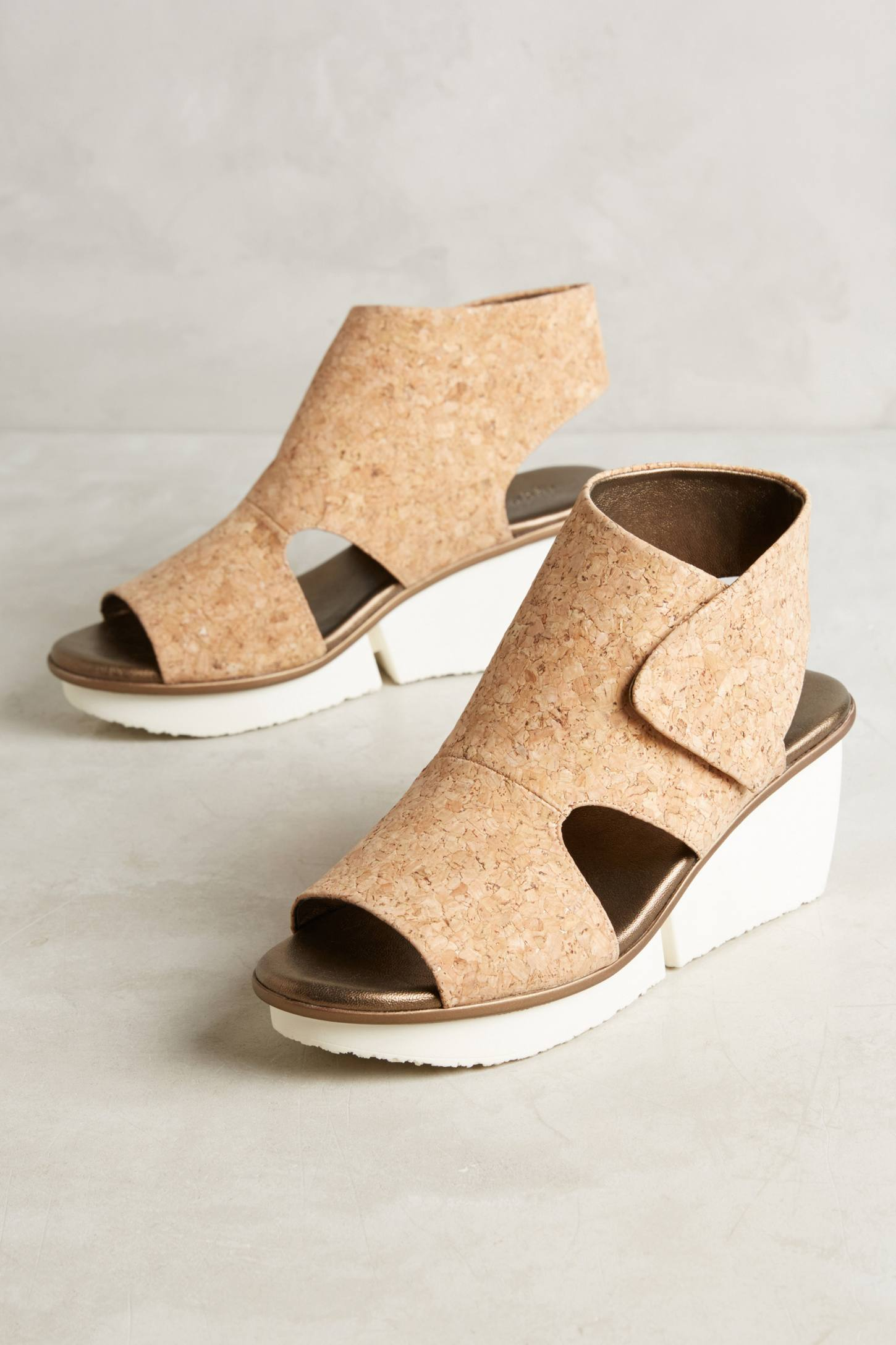 Slide View: 1: Farylrobin Seeker Cork Wedges
