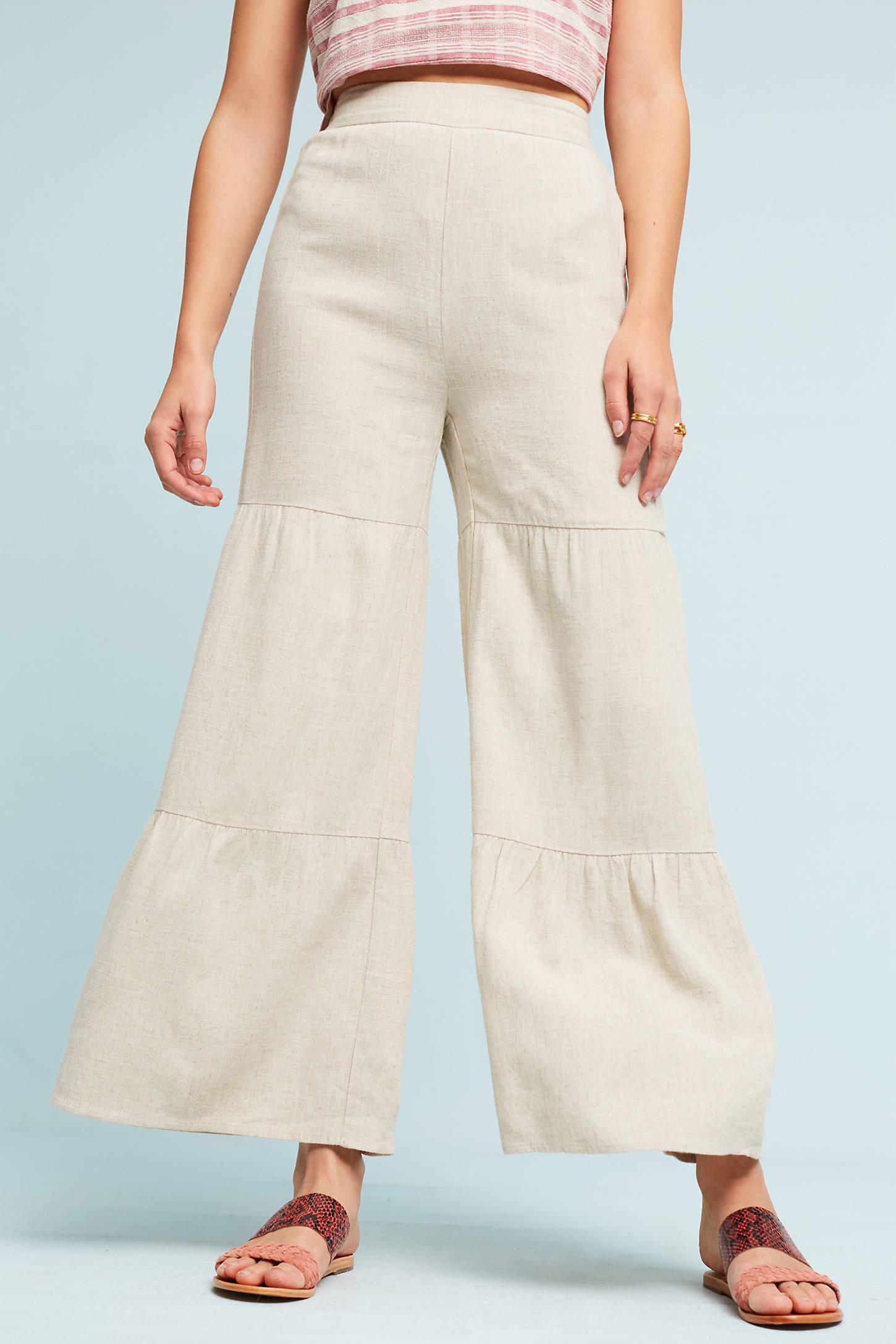 Tiered Ruffle Pants