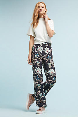 Slide View: 1: Percy Floral Pants